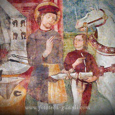 Miracolo di Sant'Eligio di Noyon - fotografia ©Fototeca Gilardi
