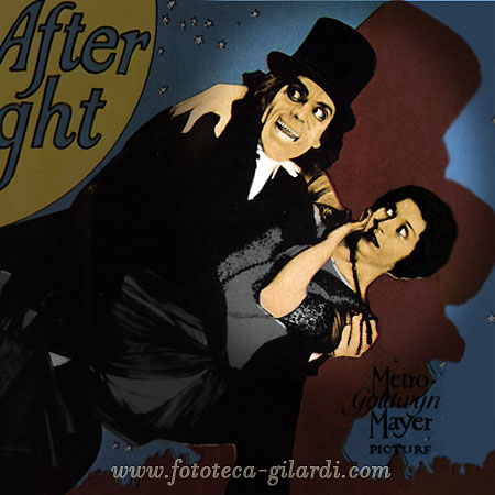 "Locandina del film ""London After Midnight"" di Tod Browning, 1927 elaborazione ©Fototeca Gilardi"