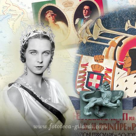 Astro Donne - La Leonessa Maria Josè del Belgio - ritratto della Principessa di Ghitta Carell - elaborazione ©Fototeca Gilardi