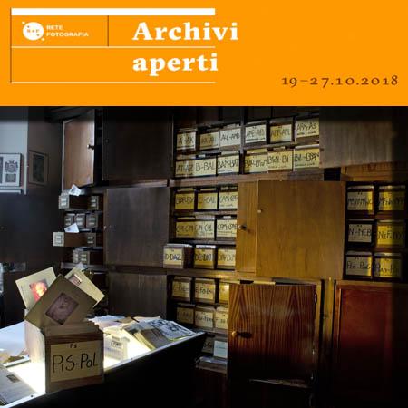 """Fototeca Gilardi partecipa alla 4° edizione della Settimana """"Archivi Aperti""""  visite 22 e 23 ottobre 2018"""