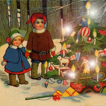 Albero di Natale in Fototeca