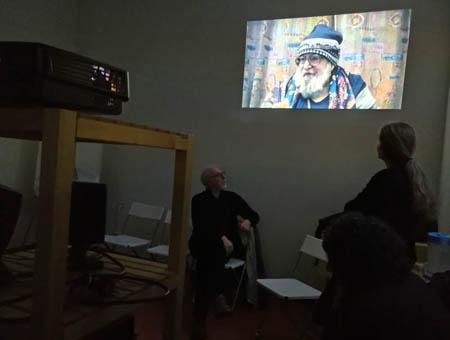 presentazione DVD Officina Phototeca,  Spazio B**K, Milano maggio 2019