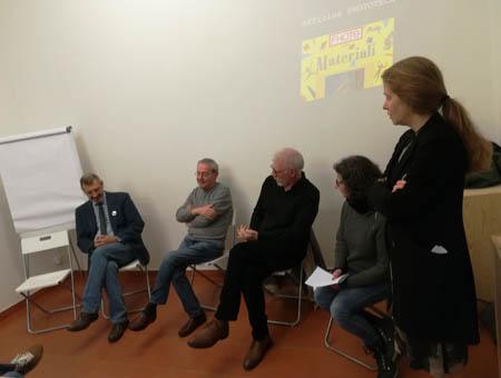presentazione del  DVD Officina Phototeca,  Spazio B**K, Milano maggio 2019