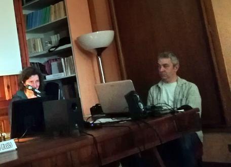Patrizia Piccini della Fototeca Gilardi presenta Officina Phototeca,  #Archiviare il presente, Torino maggio giugno 2019