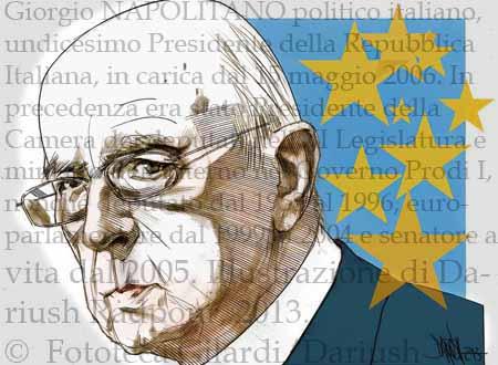 © DARIUSH - Giorgio Napolitano
