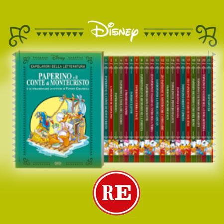 Capolavori della letteratura Disney, Iniziative Editoriali - Repubblica L'Espresso 2020