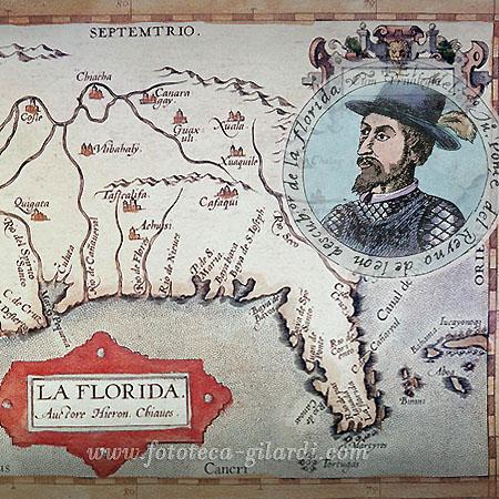 il 27 marzo 1513 Juan Ponce de León avvistò per la prima volta la Florida