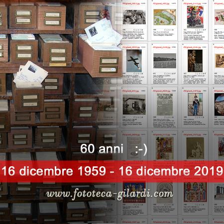 16 dicembre 1959 - 16 dicembre 2019 ©Fototeca Gilardi
