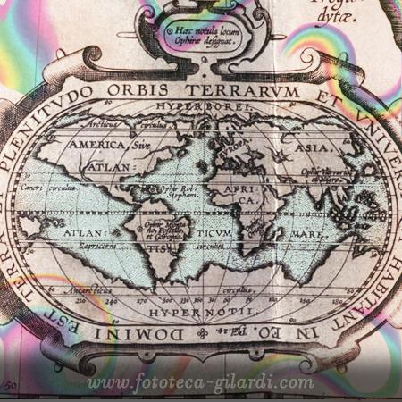 Mappa del 1610 circa,  elaborazione ©Fototeca Gilardi