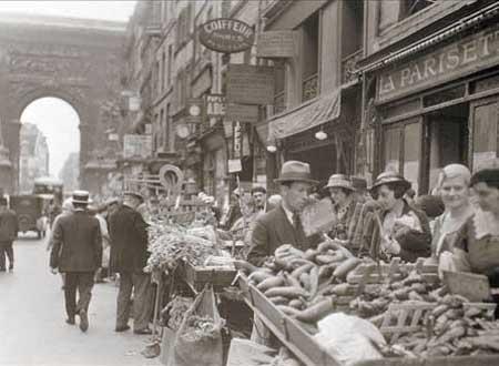 MERCATO A PARIGI 1930