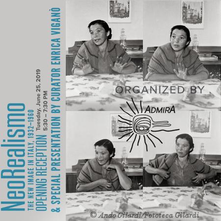 """sequenza ©Ando Gilardi, mostra NeoRealismo. La nuova immagine in Italia 1932-1960"""", San Francisco Museo Italo Americano, 25 giugno -15 settembre 2019"""