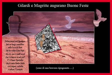 Tanti auguri di Natale da Ando Gilardi 2006 -2