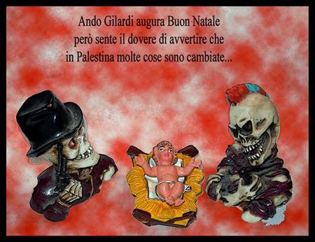 Tanti auguri di Natale da Ando Gilardi 2006 -3