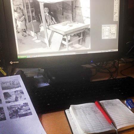 Vita d'archivio: fondo Ando Gilardi reporter, dopo il restauro la schedatura, foto Patrizia Piccini ©Fototeca Gilardi