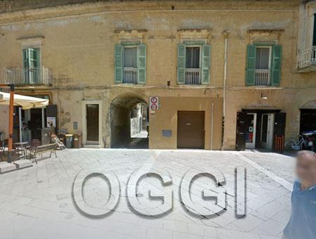 Piazza del sedile Matera, oggi