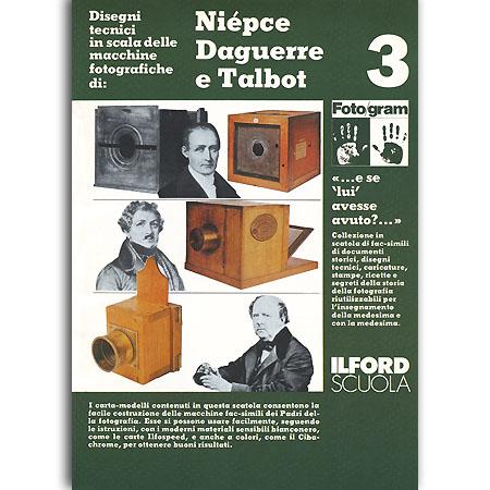 Niepce Daguerre e Talbot