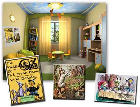 Illustrazioni per libri di favole per bambini