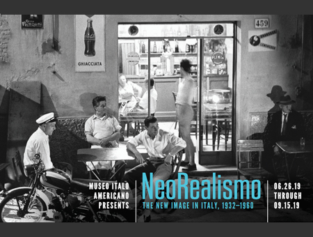 """©Nino Migliori, NeoRealismo. La nuova immagine in Italia 1932-1960"""", San Francisco Museo Italo Americano, 25 giugno -15 settembre 2019"""