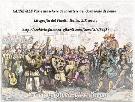 MUSICA E BALLO AL CARNEVALE DI ROMA